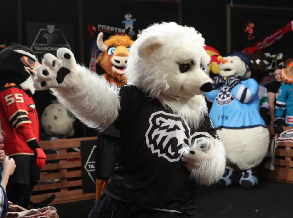 Белый Медведь взял «серебро» в конкурсе «Талисмания» КХЛ
