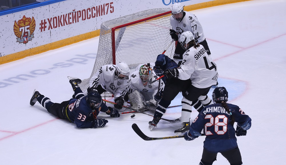 ЖХЛ. «Динамо-Нева» vs «Белые Медведицы» – 8:0