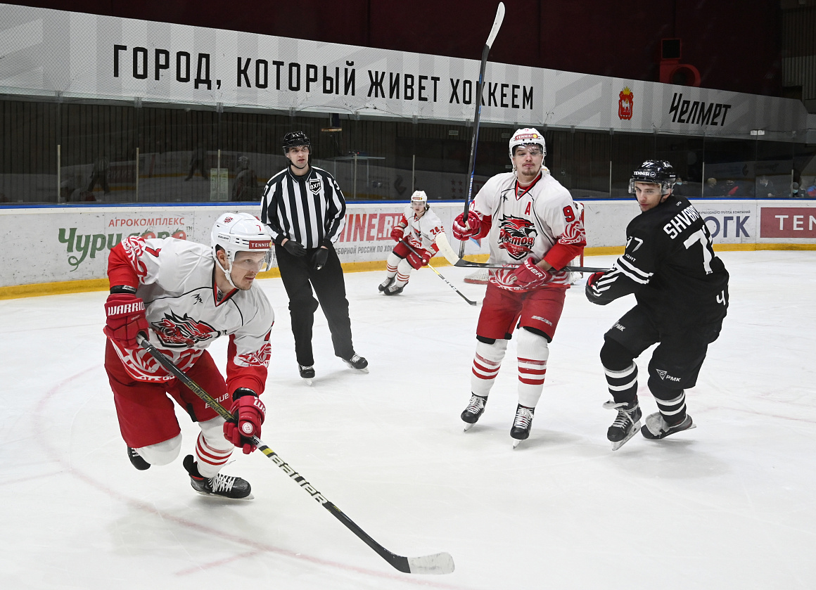 ВХЛ 20/21. «Челмет» vs «Ростов» – 4:5 Б
