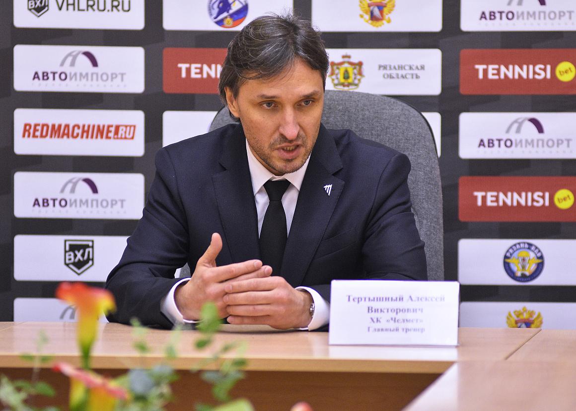 ХК «Рязань» vs «Челмет». Пресс-конференция